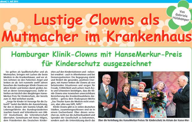 Verleihung des HanseMerkur Preis für Kinderschutz