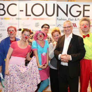 Die Klinik-Clowns auf dem Laufsteg