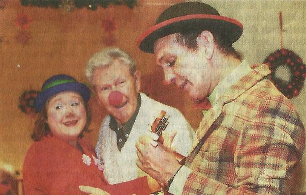 Klinik-Clowns bringen Freude ins Seniorenheim