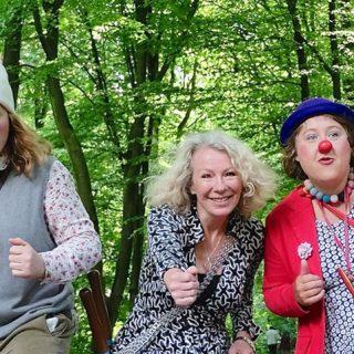 Die Klinik-Clowns im Ziel!