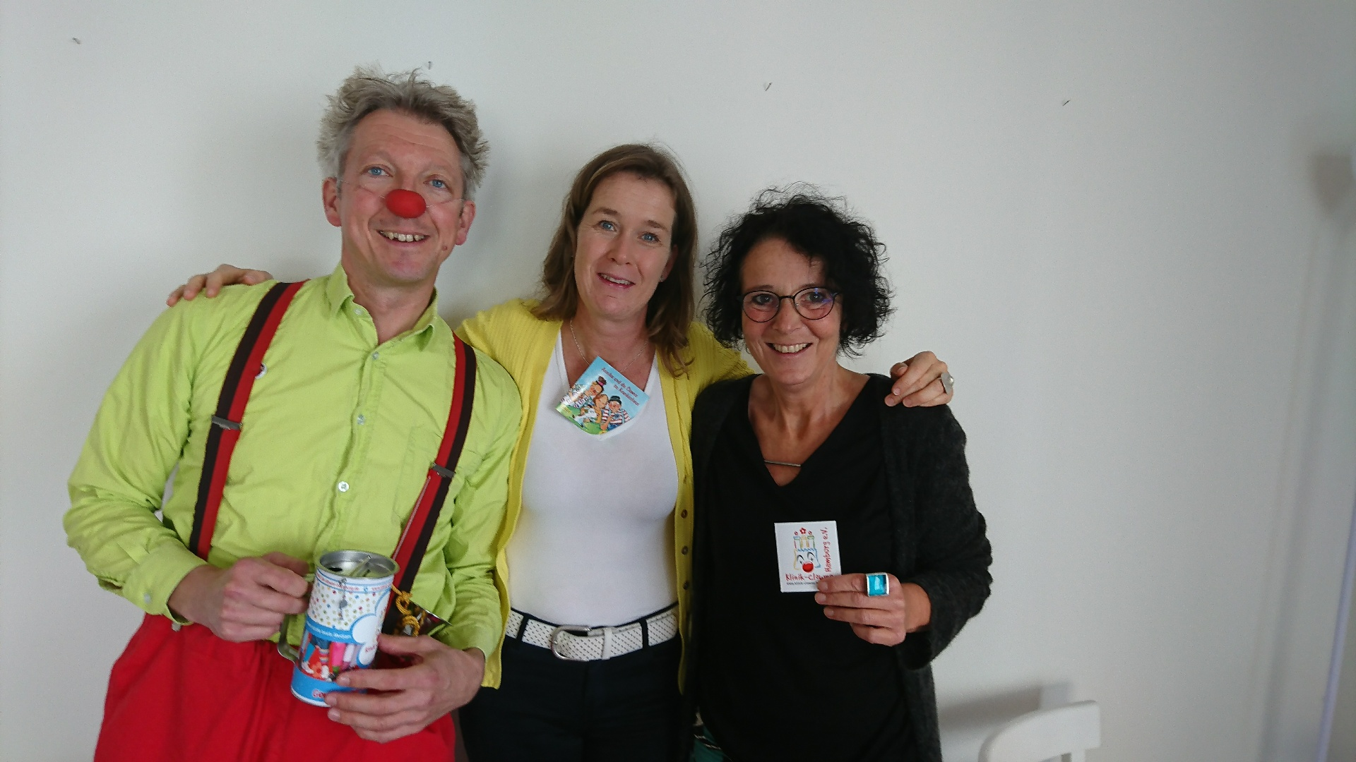 Spendenübergabe Frauke Schoon