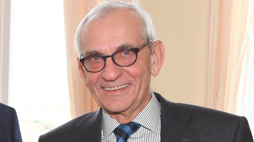 Helge Adolphsen, emeritierter Hauptpastor des Michels