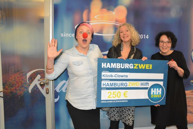 Spendenübergabe Hamburg 2
